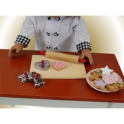 The Queens Treasures Cookie Baking Gift Set With Tools & Cookies For 18 In. Dolls (Tqst108)