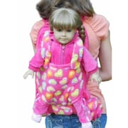 The Queens Treasures Childs Backpack With 18 In. Doll Carrier & Sleeping Bag, Pink (Tqst136)