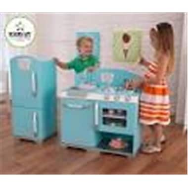 Kidkraft Retro Kitchen kidkraft blue retro kitchen and refrigerator (kk941) | staples®