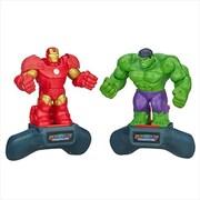 Hasbro A8615 Marvel Battlemasters Ironman Vs Hulk 3 (Acdd5644)