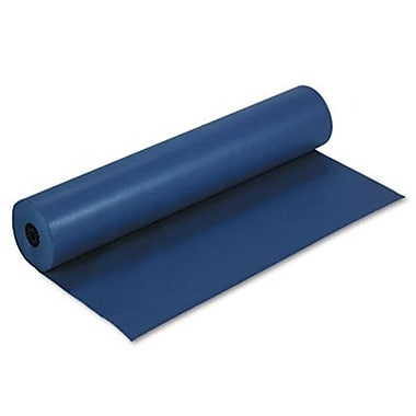 Pacon Rainbow Colored Kraft Paper Smooth Duo-Finish 36 X 1000 Roll Dk Blue (Azrpac63180)
