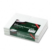 Ampad Evidence Recycled Scratch Pad Notebook Unruled 4 X 6 We 100-Sheet Dz (Azramp21731)