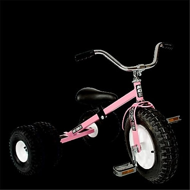 Dirt King Child Dually Tricycle, Pink (Mcfg015)