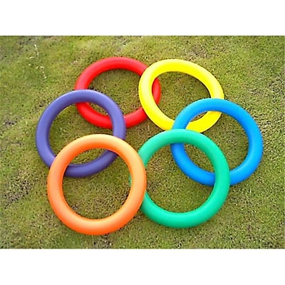 Everrich Foam Juggling Ring - 10 Inch - Set Of 6 Colors (Evrr043) 2485839