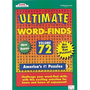 Ddi Ultimate Word- Finds Puzzle Book - Full Size Case Of 80 (Dlrdy240701)