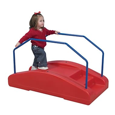 Childrens Factory Red Rocker With Rails (Chfct726)