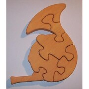 The Puzzle-Man Toys Wooden Educational Jig Saw Puzzle - French Horn (Crwp154)
