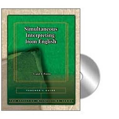 Harris Communications Effective Interpreting - Simultaneous Interpreting From English Teachers Set (Hrsc1020)