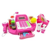 Az Import & Trading 12 inch Pink Supermarket Cash Register Ps532 (Azimt480) by