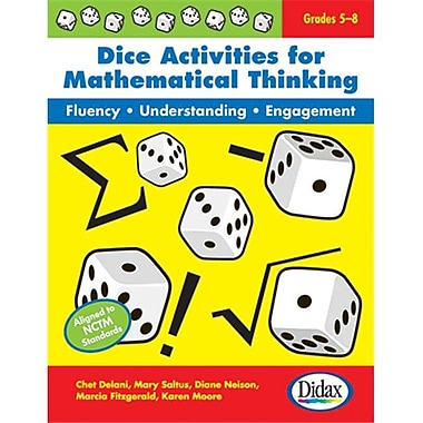 Didax Dice Activities For Mathematical (Edre36639)