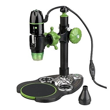 Amscope 5X-500X 2Mp 8-Led Zoom Digital Usb Microscope Endoscope Xp, Vista 7,8 & Mac (Unscp1342)
