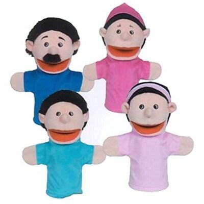 Get Ready Hispanic Family Puppet Set- 12