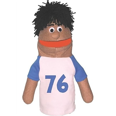 Get Ready Athletic Boy Puppet- African-American- 18