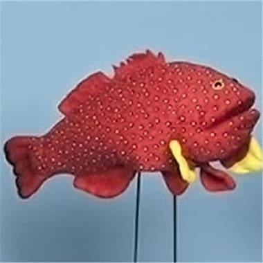 Sunny Toys 16 In. Tropical Fish - Coral, Animal Puppet (Snty352)