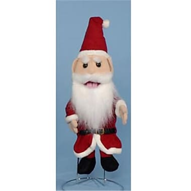 Sunny Toys 14 In. Santa Clause, Glove Puppet (Snty640)