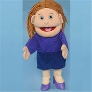 Sunny Toys 14 In. Mom In Purple Dress, Glove Puppet (Snty645)