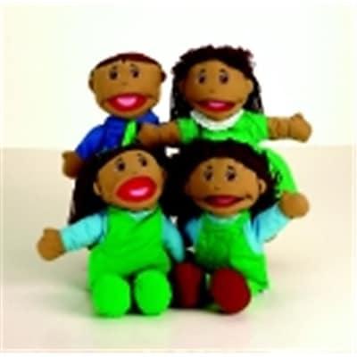 Marvel Education Hispanic Family Puppet Set (Sspc66026)