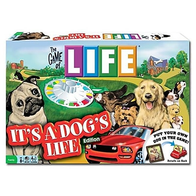 Brybelly Holdings The Game Of Life - Its A Dogs Life Edition (Brybl1389) 2487873