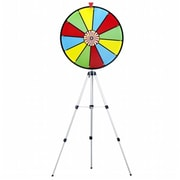 Brybelly 24 Color Dry Erase Prize Wheel W/ Floor Stand (Rtl59282)