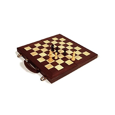 Sunnywood Folding Chess Set - 16 Inch (Snwd092)