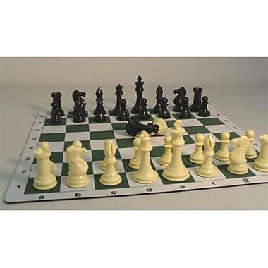 Cnchess Plastic Triple Weighted Tournament Pieces And Mat (Wwi098)