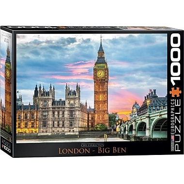 Eurographics City Collection, London Puzzle - 1000 Pieces (Eugr4559)