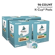 Caribou Blend Decaf Coffee, Keurig K-Cup Pods, Medium Roast, 96/Carton (10307)