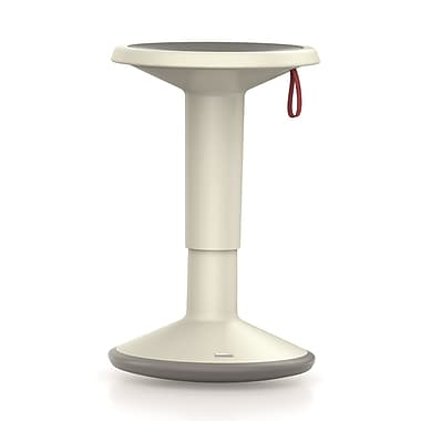 Interstuhl – Tabouret ergonomique réglable multiusage UP, blanc (UP-WH)
