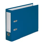 Bindertek 2-Ring 3-Inch Premium Top File Binders, For Top-Punched Paper, Navy