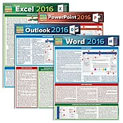 QuickStudy Microsoft Office 2016 Reference Set (2498006)