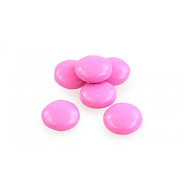 Pink Milk Chocolate Gems, 5 lbs