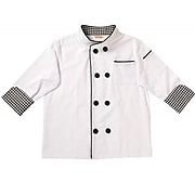 Aeromax Chef Jacket & Hat, One Size Fits Most Ages 4-8 years (AEACJCSMALL)