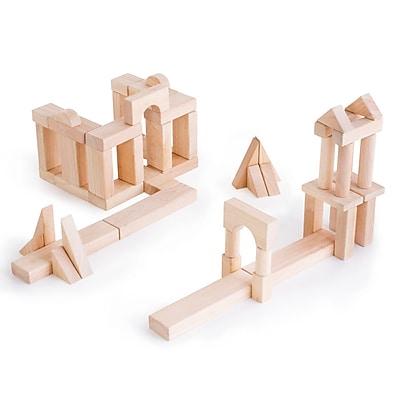Guidecraft Unit Blocks, Set B, 56 Piece