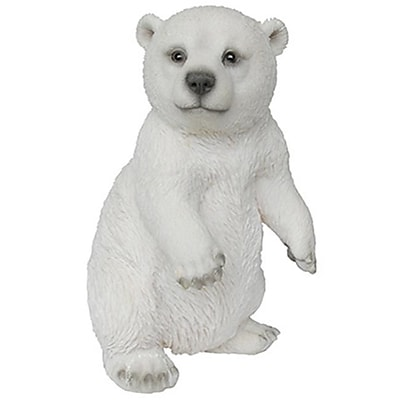Border Concepts 83479 7.5 in. Dancing Polar Bear Figurine (TRVAL6657) 2512489