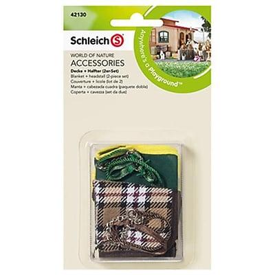 Schleich 42130 Blanket & Headstall Set (TRVAL42341) 2512487