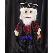 Sunny Toys 14 In. Pirate - Captain, Glove Puppet (SNTY142)