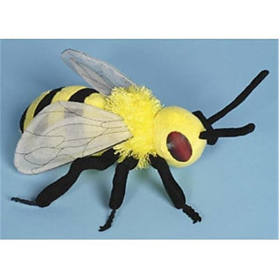 Sunny Toys 8 In. Bee, Animal Puppet