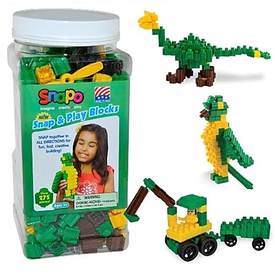 Snapo Snap & Play-Over Building Blocks 275