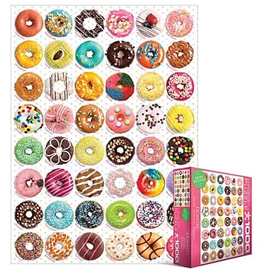 EuroGraphics Donut Tops 1000-Piece Puzzle (Small Box) (EUGR460)