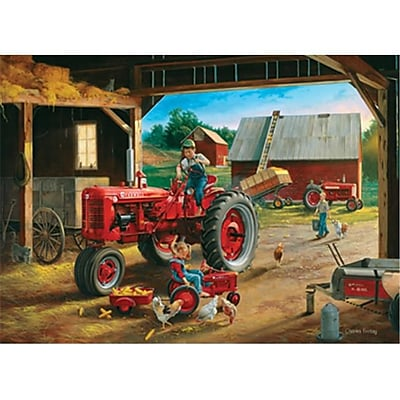 Masterpieces Charles Freitag Farmall Friends Puzzle, 1000 Pieces (RTL236248) 2517553