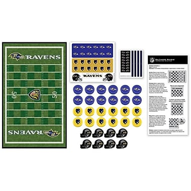Masterpieces Baltimore Ravens Checkers Puzzle (RTL236534)