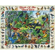 White Mountain Puzzles Birds of Backyard Puzzle (GC4592)