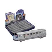 Diecast Pullbacks Mta Pullback Subway Car 12 Piece Display (DARON11160)