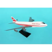 FLight Miniatures B747-100 Twa Red Stripe 1-250 (DARON8999)