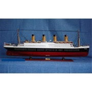 Old Modern Handicrafts Titanic Painted L Model Boat (OMHC023)