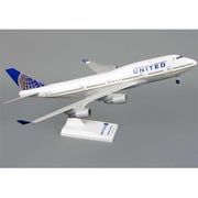 Skymarks United 747-400 1-200 with Gear Post Co Merger (DARON8739)