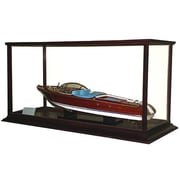 Old Modern Handicrafts Display Case for Speed Boat (OMHC047)