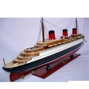 Old Modern Handicrafts Normandie Painted Model Boat (OMHC022)