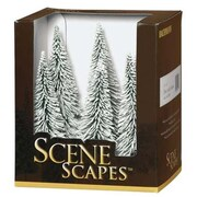 Bachmann 5-6 in. Pine Trees with Snow - 6 (SPWS4682)