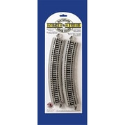 Bachmann Ho 18 in. Curved Track - 4 (SPWS4676)